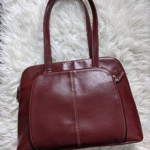 Bugatti Women's Burgundy Laptop Bag